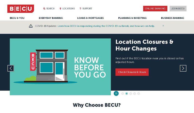 becu online banking
