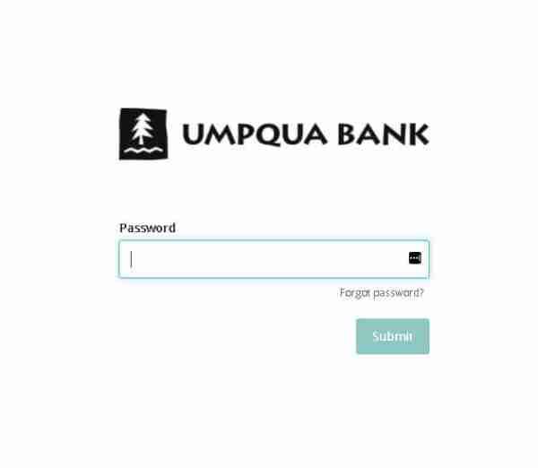 Umpqua Bank Login Steps 2