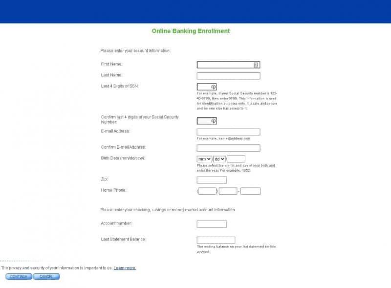 s&t bank enrollment information