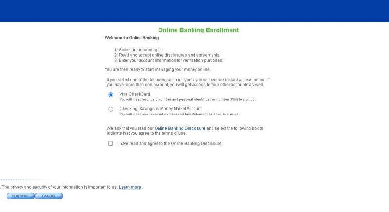 s&t bank enrollment steps