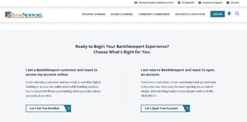 banknewport enroll