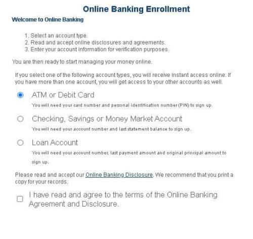renasant bank enroll to online banking step 2
