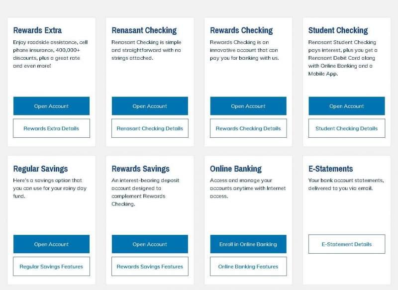 renasant bank enroll to online banking