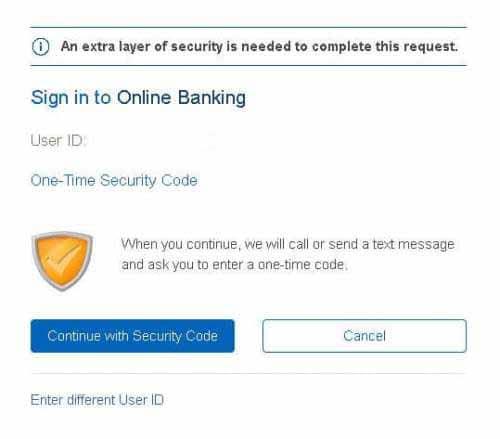 renasant bank forgot password step 2