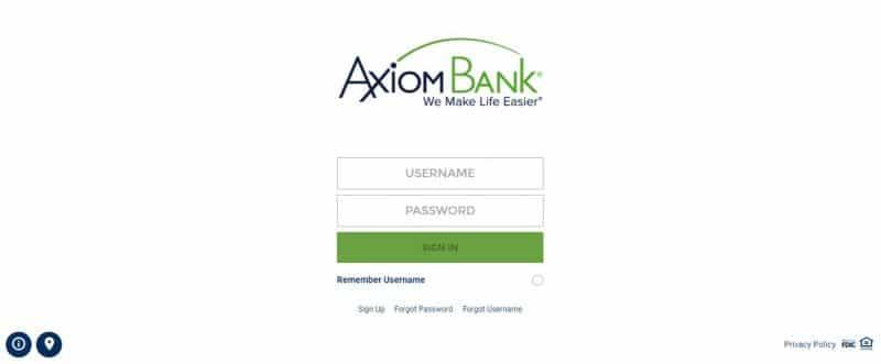 Axiom Bank Login