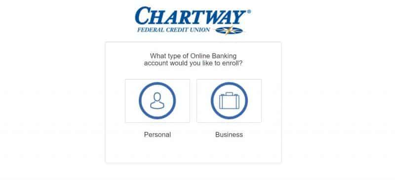 ChartWay Federal Credit Union Enrollment