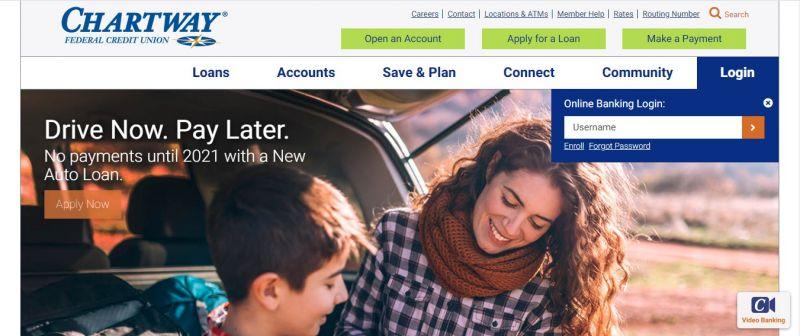 ChartWay Federal Credit Union Login