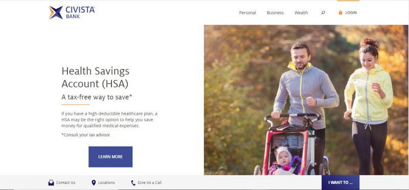 Civista Bank Homepage