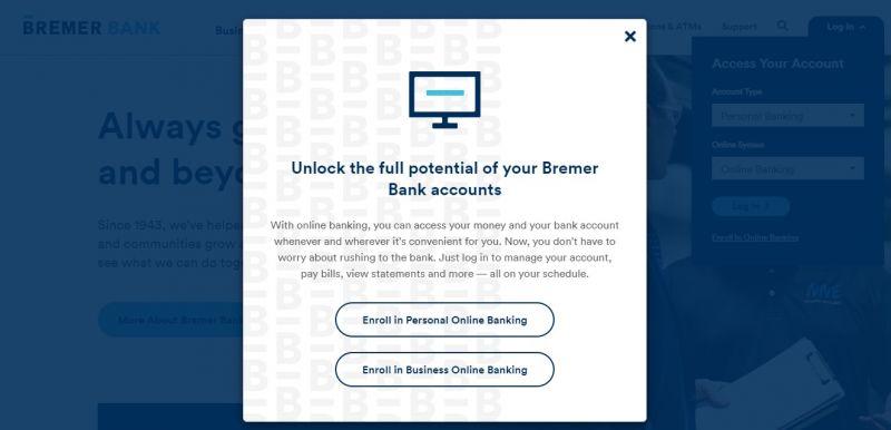 Bremer Bank Enrollment