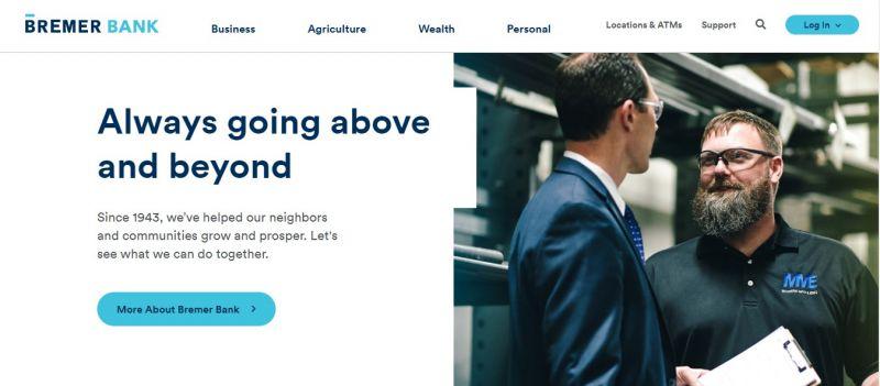 Bremer Bank Homepage