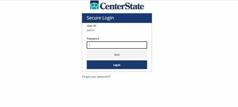 Center State Bank Login