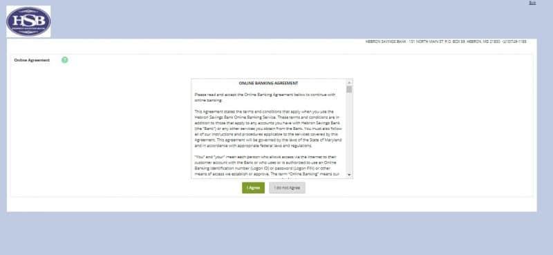 Hebron Savings Bank Enrollment