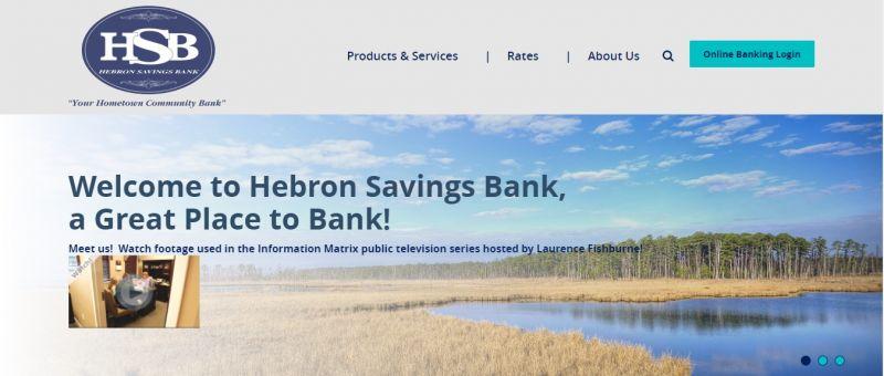 Hebron Savings Bank Homepage
