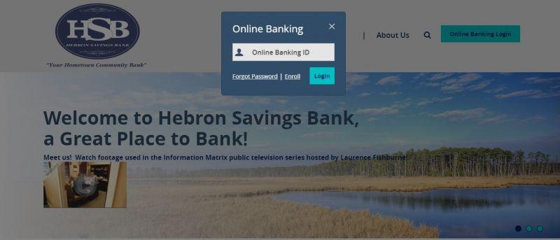 Hebron Savings Bank Login