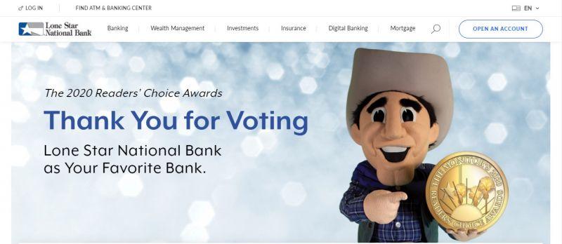 Lone Star National Bank HomePage