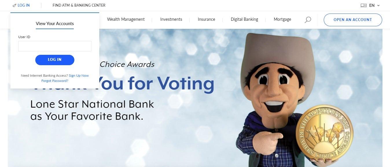 Lone Star National Bank Login