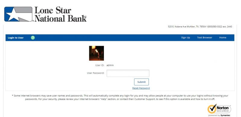 Lone Star National Bank Login1