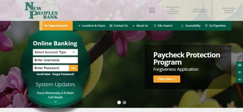 New Peoples Bank Homepage