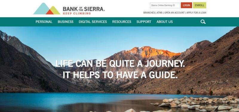 Bank of the Sierra HomePage