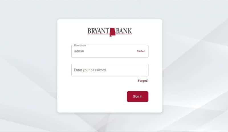 Bryant Bank Login