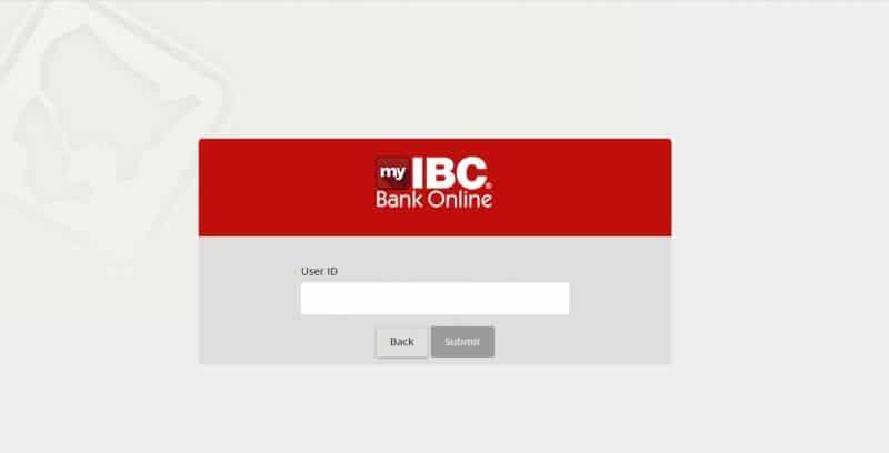 IBC bank ForgotPassword