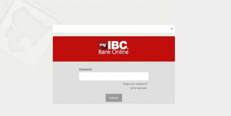 IBC bank Login