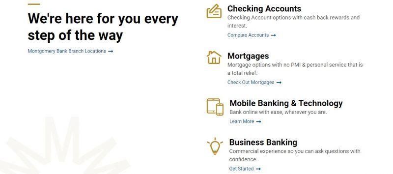 Montgomery Bank Enrollment