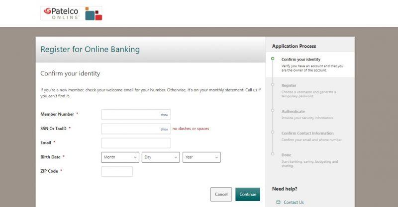 Patelco Credit Union Enrollment1