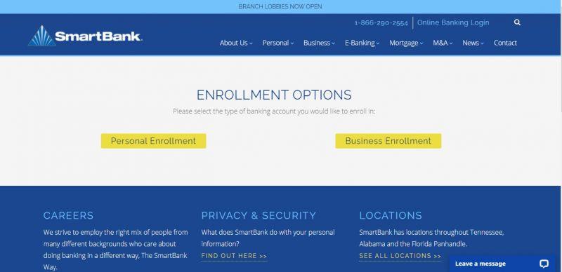 Smart Bank Enrollment