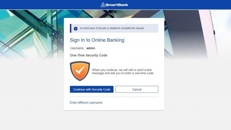 Smart Bank Login