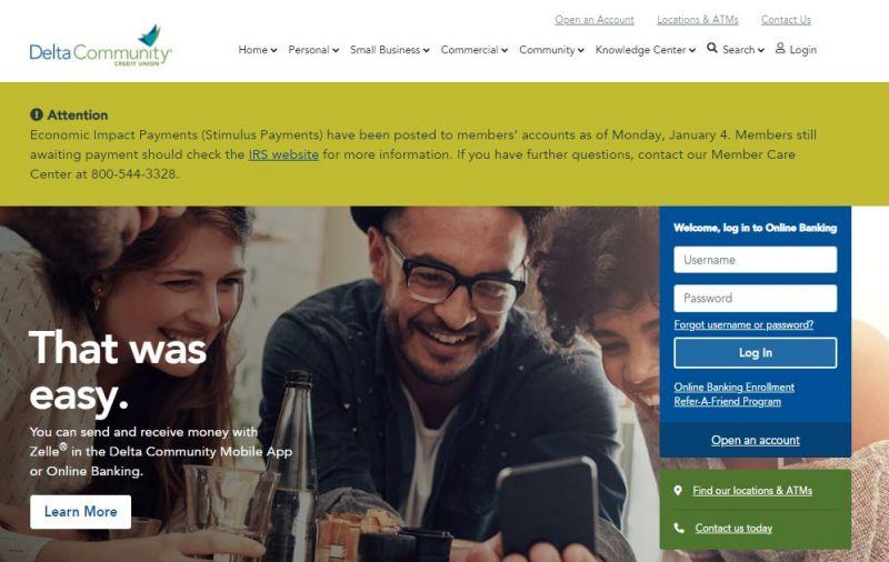 Delta Community Credit Union HomePage