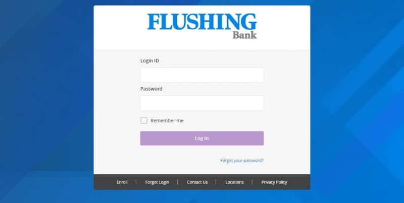 Flushing Bank login