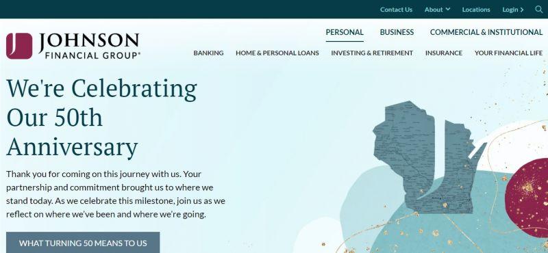 Johnson Bank HomePage