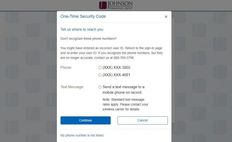 Johnson Bank Login