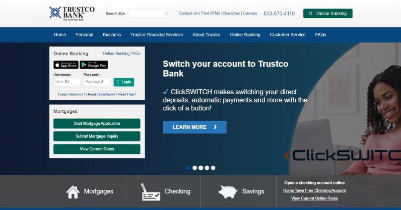 Trustco Bank HomePage